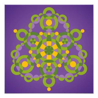 Mandala Conception Photographic Print