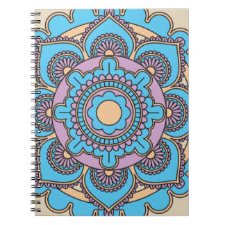 Mandala Cover Notebook