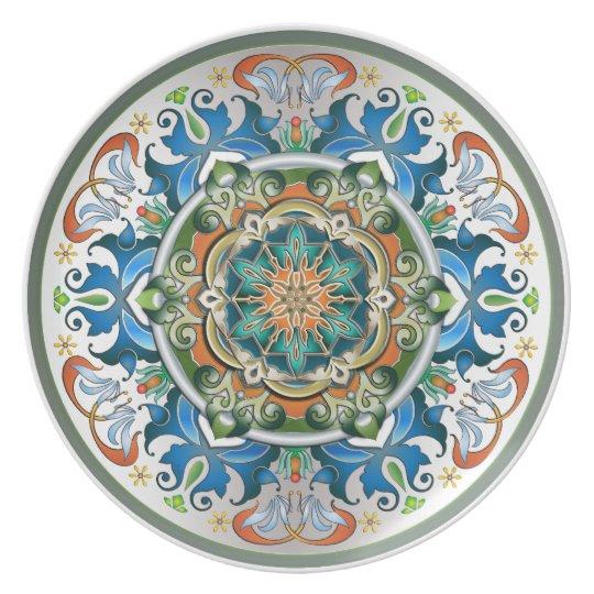 Mandala Culture Plate