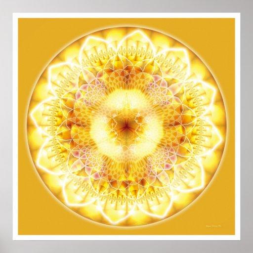 Mandala curatif 1 affiche