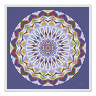 Mandala curatif 7 poster