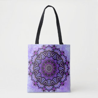 Mandala Custom All-Over-Print Tote Bag