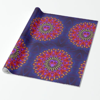 Mandala - Daily Focus 2.21.2018 Wrapping Paper