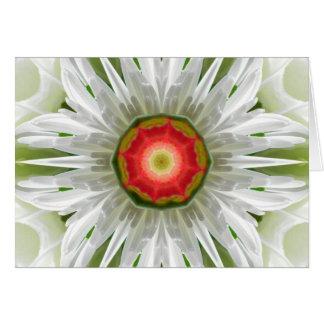 Mandala Daisy Card