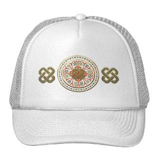 Mandala de trèfle casquette de camionneur