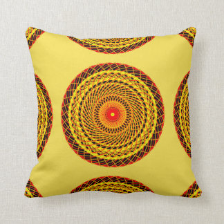 Mandala Dekokissen 40.6 cm Throw Pillow