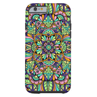 Mandala Design 3 Tough iPhone 6 Case
