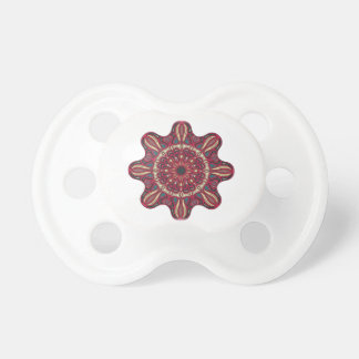 Mandala design pacifier