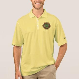 Mandala design polo shirt