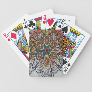 Mandala designs art gifts poker deck