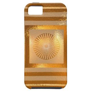 MANDALA d'étincelle d'OR - cadeaux orientaux Étuis iPhone 5