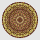 Mandala Divine Love no. 2 created by Tutti Classic Round Sticker