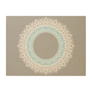 Mandala Doilie Lace Circular Design Wall Art