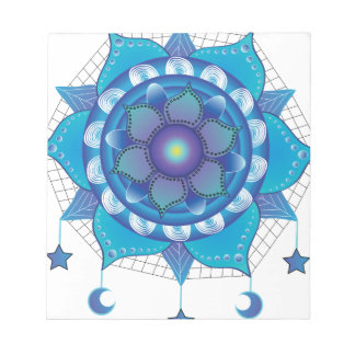 Mandala Dream Catcher Notepad
