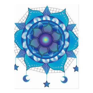 Mandala Dream Catcher Postcard