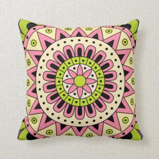 Mandala Dua Throw Pillow