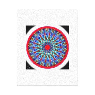 """Mandala Ethno "" Canvas Print"