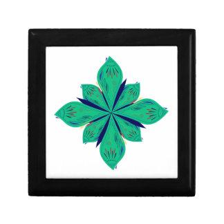 Mandala Ethno green deco Gift Box