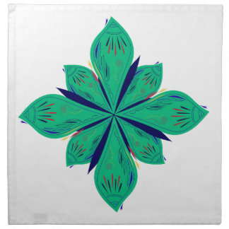Mandala Ethno green deco Napkin