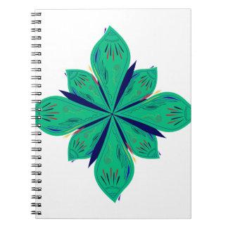 Mandala Ethno green deco Notebooks