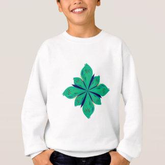 Mandala Ethno green deco Sweatshirt