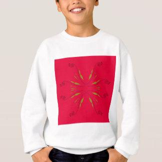 Mandala ethno  red sweatshirt