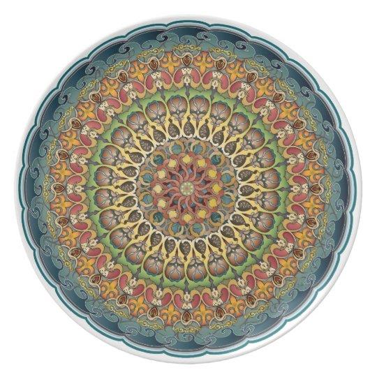 Mandala Fantasia Decorative Plates