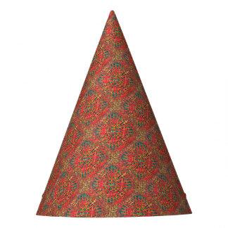 Mandala Fire Party Hat