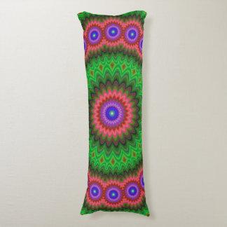 Mandala flower bouquet body pillow