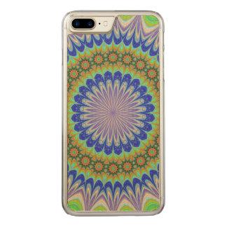 Mandala flower carved iPhone 7 plus case