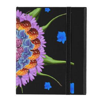 Mandala Flower Collage iPad Folio Case