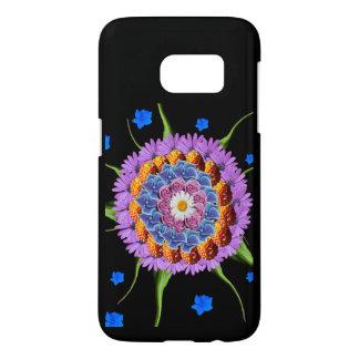 Mandala Flower Collage Samsung Galaxy S7 Case