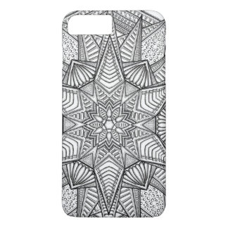 Mandala Flower iPhone 7 Plus Case