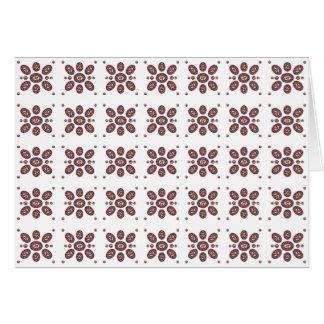 Mandala Flower Pattern Card