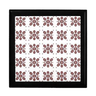 Mandala Flower Pattern Keepsake Box