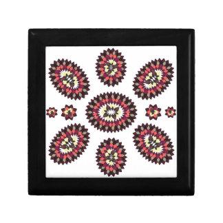 Mandala Flower Pattern Keepsake Boxes