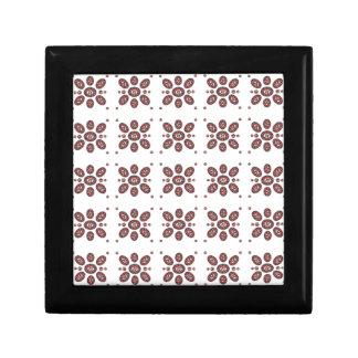 Mandala Flower Pattern Trinket Box