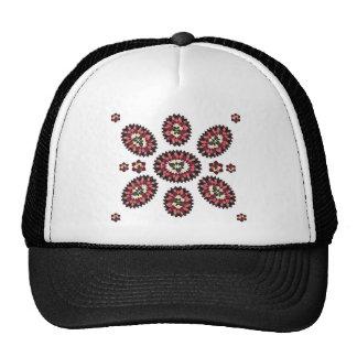 Mandala Flower Pattern Trucker Hat