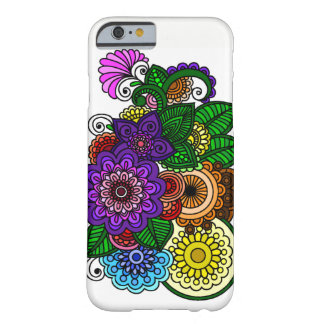 Mandala Flowers Barely There iPhone 6 Case