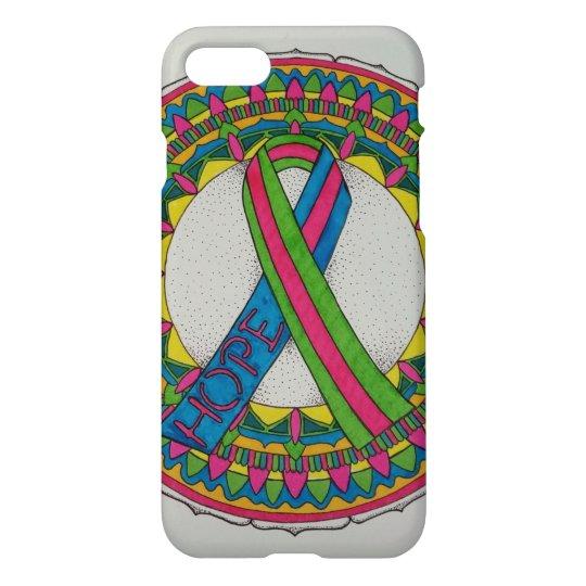 Mandala for Metastatic Breast Cancer Awareness iPhone 8/7 Case