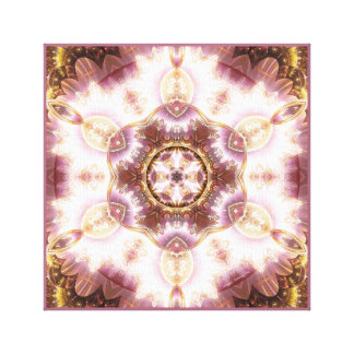 Mandala from the Heart of Change 14 Wrapped Canvas