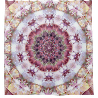 Mandala from the Heart of Change 18 Shower Curtain