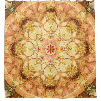 Mandala from the Heart of Change 21 Shower Curtain
