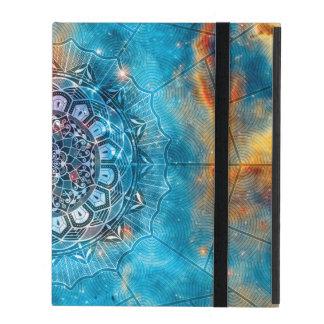 Mandala + Galaxy iPad Cover