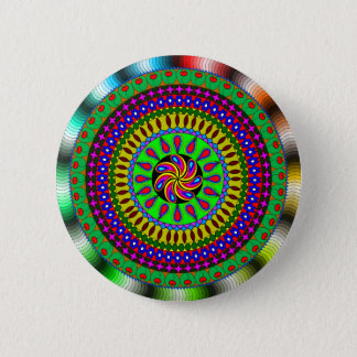 Mandala Gifts 2 Inch Round Button