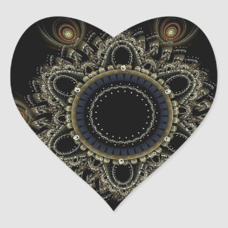 Mandala Gifts Heart Sticker
