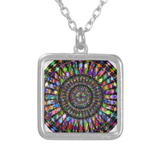 Mandala Gifts Silver Plated Necklace