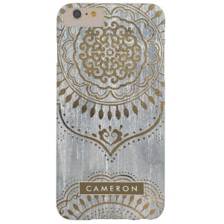 Mandala Gold Design Barely There iPhone 6 Plus Case