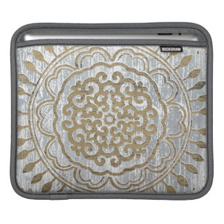 Mandala Gold Design iPad Sleeve