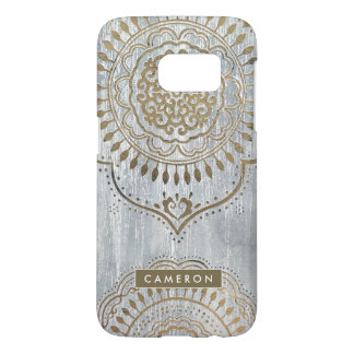 Mandala Gold Design Samsung Galaxy S7 Case